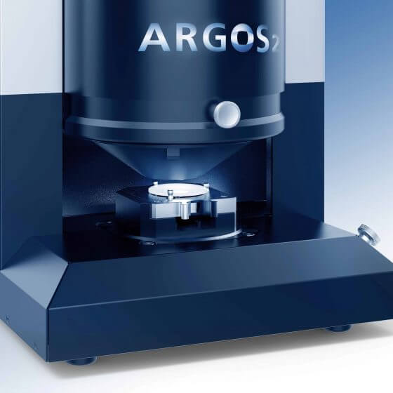 ARGOS 2 testing system for surface imperfections