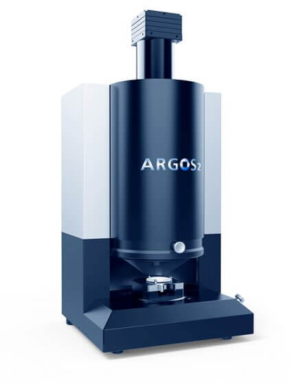 ARGOS 2 surface inspection system for ISO 10110-7 inspection