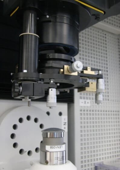 optical shop interferometer with optomechanical accessories