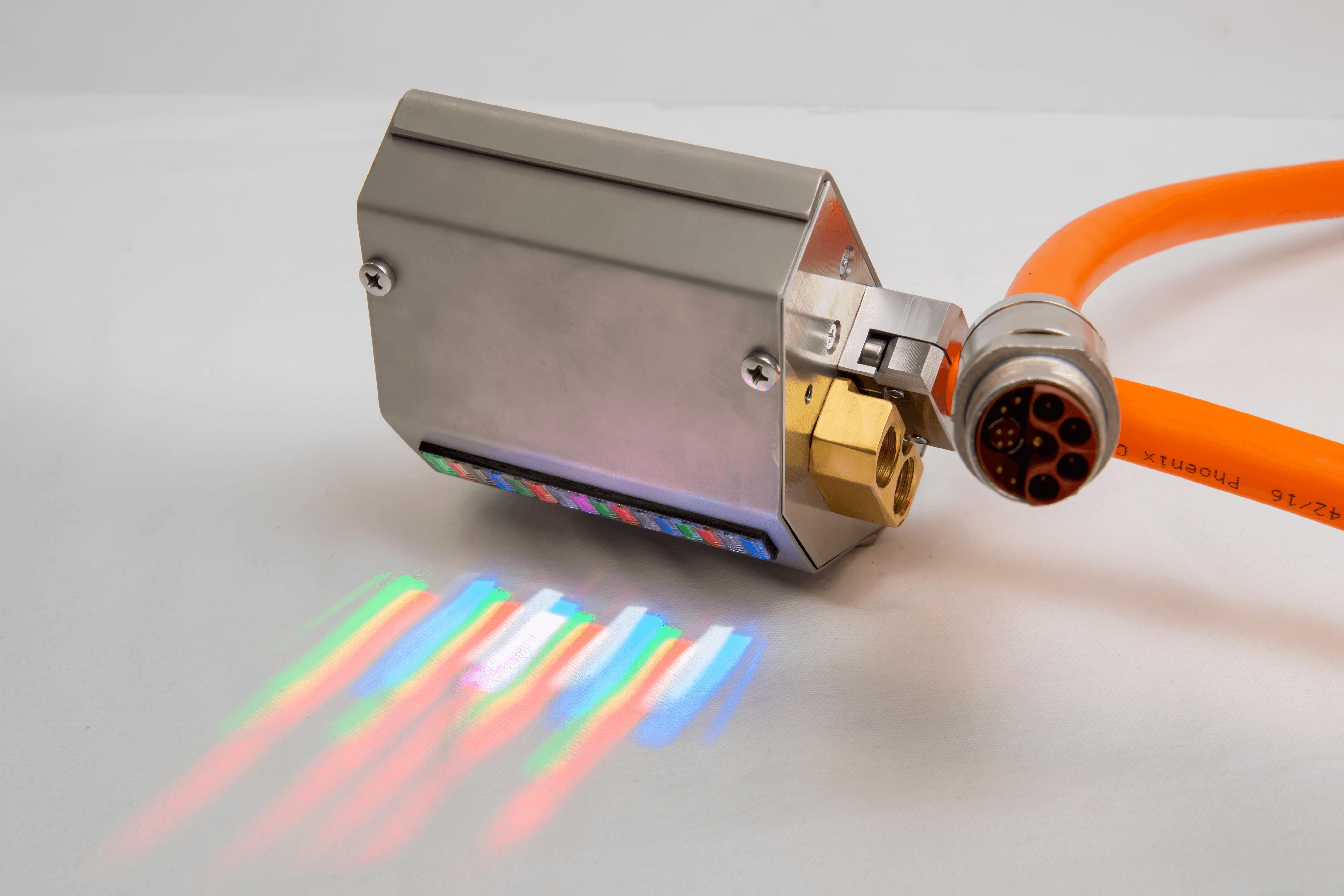 RGB illumination for substance detection
