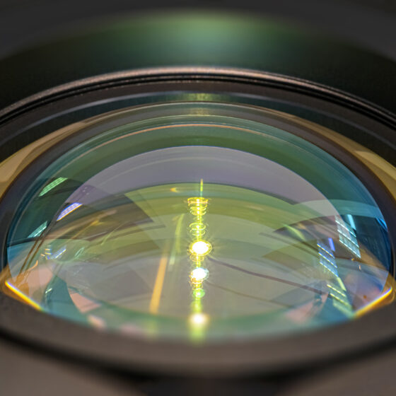 Conoscope lenses for LIDAR testing – Quality control and active adjustment of LIDAR components