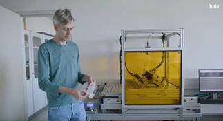 Professor der Hochschule Darmstadt für Optotechnik und Bildverarbeitung