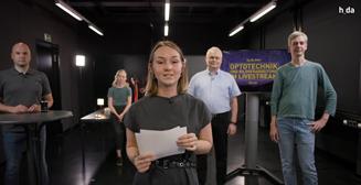 Hochschule Darmstadt Studiengang Optotechnik und Bildverarbeitung - Teilnehmer Livestream.